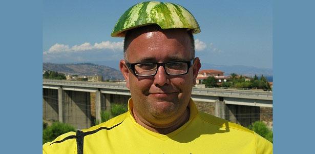 GIODO z arbuzem na głowie